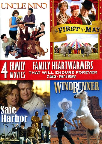 4 Family Movie Collection (Uncle Nino / The First