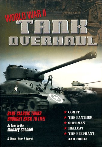 WWII - World War II Tank Overhaul (6-DVD)