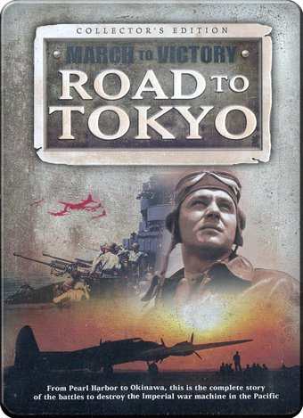 WWII - March to Victory: Road to Tokyo [Tin Case]