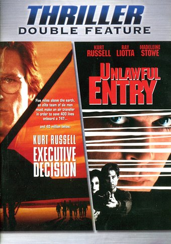 Kurt Russell Thriller Double Feature: Executive