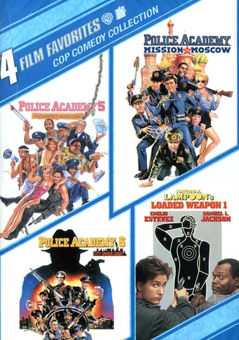 4 Film Favorites: Cop Comedy Collection (Police