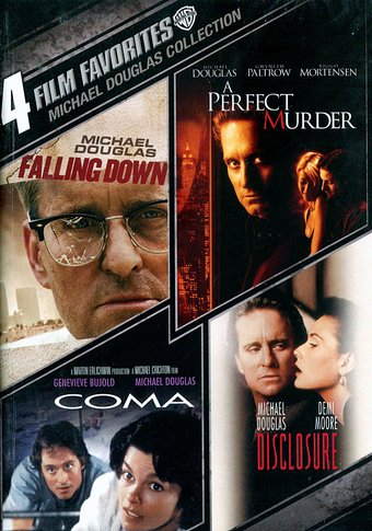 Michael Douglas: 4 Film Favorites Collection: