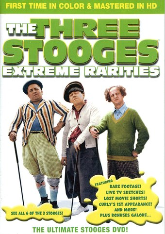 The Three Stooges - Extreme Rarities