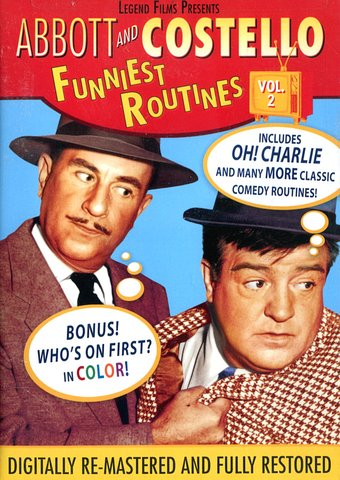 Abbott & Costello - Funniest Routines, Volume 2