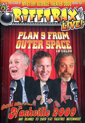 Rifftrax Live! - Plan 9 from Outer Space: Riffed