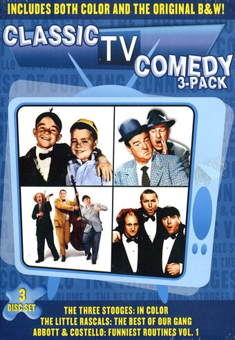 Tv Comedies Classic Tv Comedy 3 Pack The Three Stooges