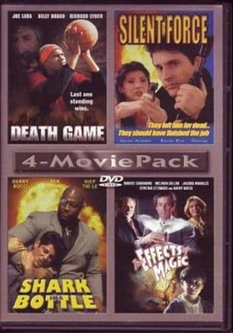 4-Movie Pack: Death Game / Silent Force / Shark
