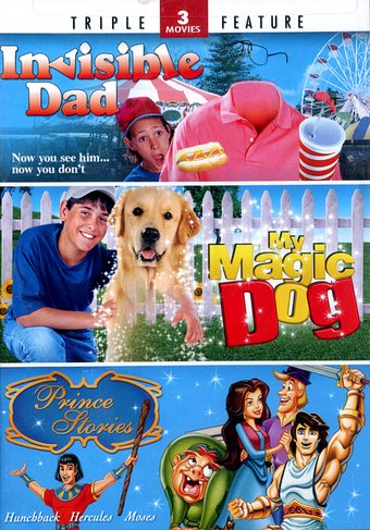 Invisible Dad / My Magic Dog / Prince Stories