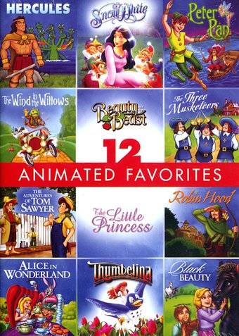 12 Animated Favorites (3-DVD)