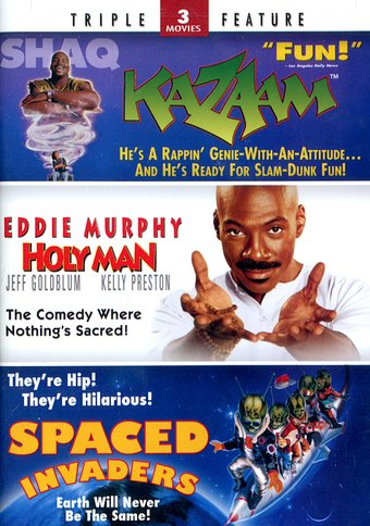 Kazaam / Holy Man / Spaced Invaders (2-DVD)
