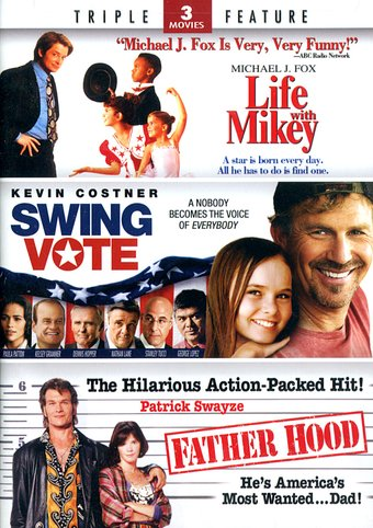 Life with Mikey / Swing Vote / Father Hood (2-DVD)