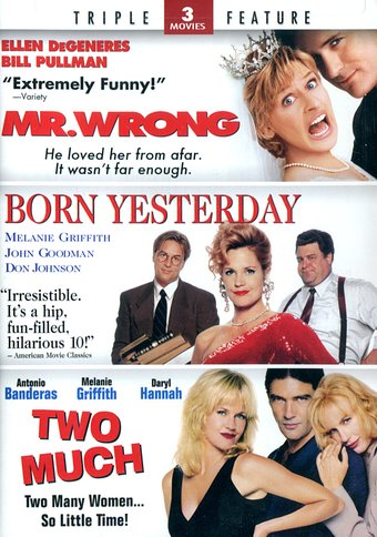 Mr. Wrong / Born Yesterday / Two Much (2-DVD)