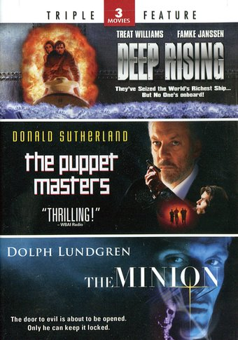 Deep Rising / The Puppet Masters / The Minion