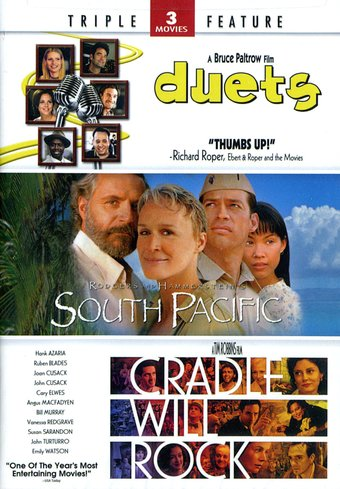Duets / South Pacific / Cradle Will Rock (2-DVD)