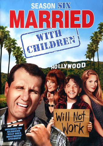 Married With Children Season 6 2 Dvd 2014