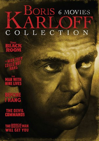 Boris karloff collection the black room the man they could not hang the man with nine lives for Where the rooms are a collection of our lives