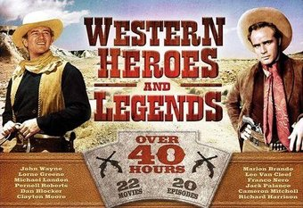 Western Heroes and Legends - 22-Films & 20 TV