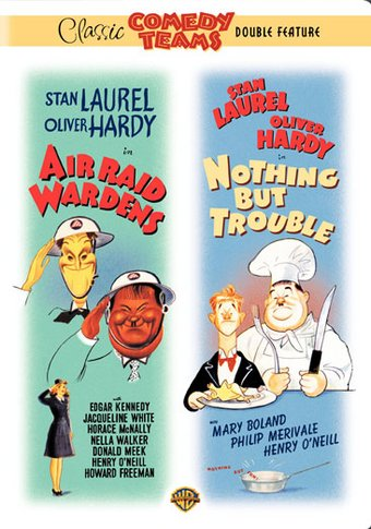 Laurel & Hardy - Air Raid Wardens / Nothing But