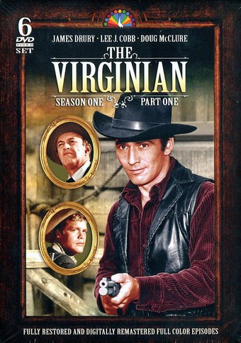 The Virginian - Season 1, Part 1 (6-DVD)