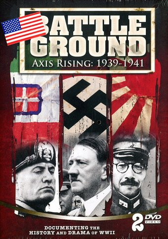 Battle Ground: Axis Rising, 1939-1941 (2-DVD)
