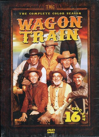 Wagon Train - Complete Color Season (16-DVD)