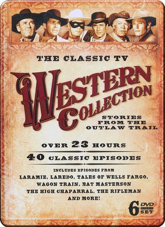 Westerns - Classic TV Western Collection (6-DVD)