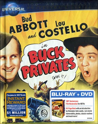 Abbott & Costello - Buck Privates (Blu-ray + DVD)
