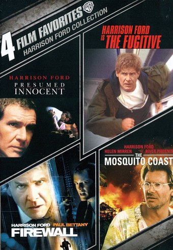 Harrison Ford Collection: 4 Film Favorites