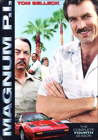 Magnum P.I. - Complete 4th Season (6-DVD)