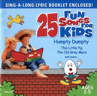 25 Fun Songs for Kids