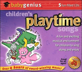 Children's Playtime Songs (5-CD)