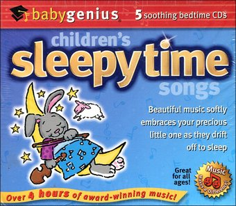 Children's Sleepytime Songs (5-CD)