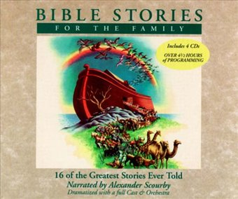 Bible Stories for the Family (4-CD)