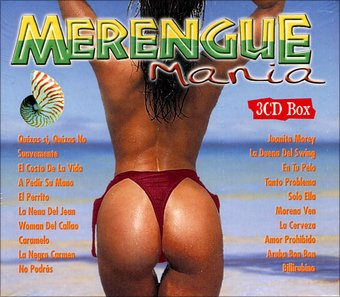 Merengue Mania 3-CD Box