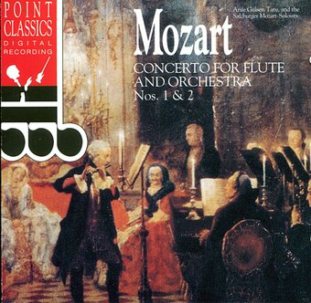 Mozart: Concerto For Flute and Orchestra, Nos. 1
