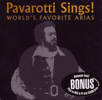 Pavarotti Sings! World's Favorite Arias (2-CD)