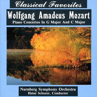 Mozart: Piano Concertos in G Major and C Major