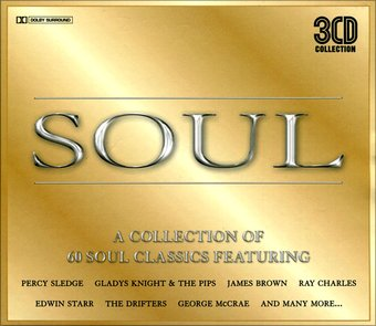 Soul: A Collection of 60 Soul Classics (3-CD)