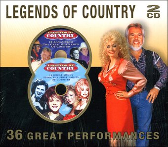 Legends of Country: 36 Great Performances (2-CD)