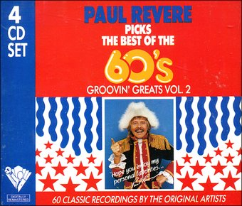 Paul Revere Picks The Best Of The 60's - Groovin'
