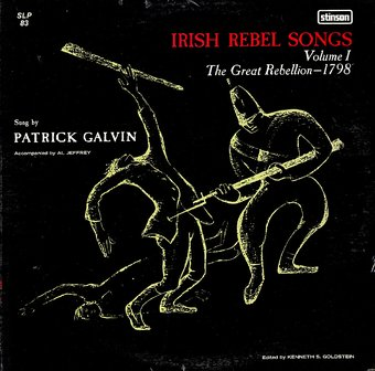 Irish Rebel Songs, Volume 1