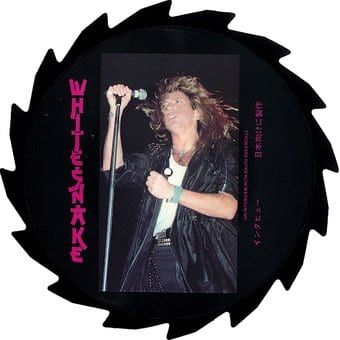 Saw Blade Shaped Picture Disc