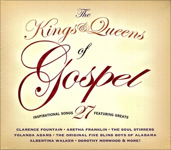 The Kings & Queens of Gospel (2-CD)