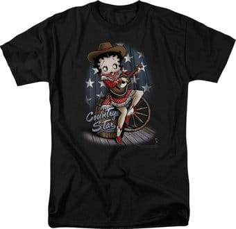 Betty Boop: Country Star - T-Shirt