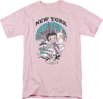 Betty Boop: Singing in New York - T-Shirt