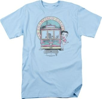 Betty Boop: Betty's Trolley - T-Shirt