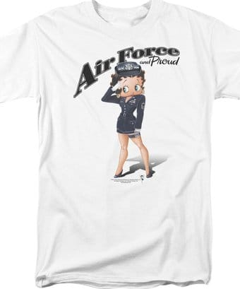 Air Force Boop - T-Shirt