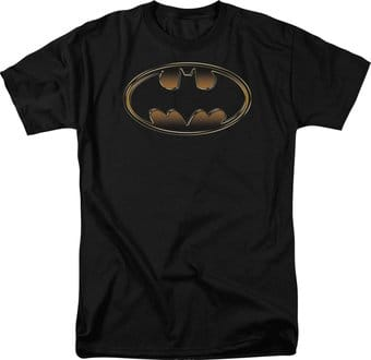 DC Comics - Batman - Black & Gold Embossed Shield