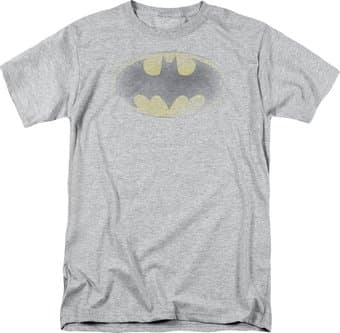 Batman - Faded Logo - T-Shirt