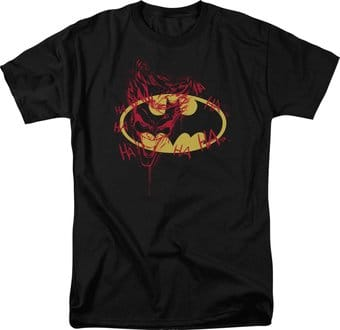 Batman - Joker Graffiti - T-Shirt
